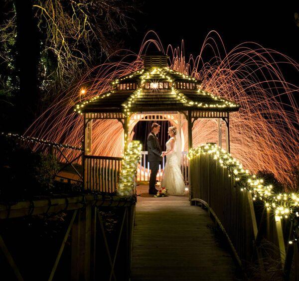 Mary Teresa Crowley and Richard Caverly enjoyed a magical wedding day