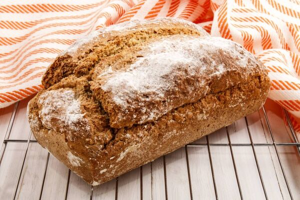 Carbs, like this loaf of bread here, aren't all bad.