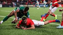 Debutant Jack O'Sullivan sprinkles gold dust on promising night for Munster
