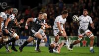 Gilroy double helps Ulster kick off PRO14 campaign with Ospreys win