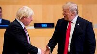 Trump and Johnson to haunt October