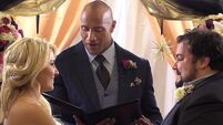The Rock officiates at fan's surprise wedding