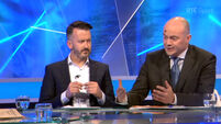 VIDEO: TV panel cracks up as fly lands on Anthony Daly's bald head
