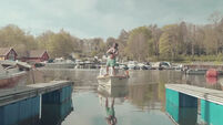 Inexplicably, this Norwegian video of a boat docking is going viral