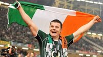 O'Driscoll still Ireland's most admired sports personality, says sponsorship report