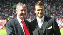 Alex Ferguson and David Beckham set for Old Trafford charity match