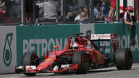 Vettel steps up pace at Monaco