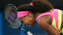Williams fires first shot ahead of grudge match with Sharapova