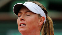 Sharapova dumped out in the fourth round of French Open