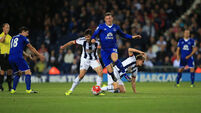 Everton recover from 2-0 to beat West Brom 3-2