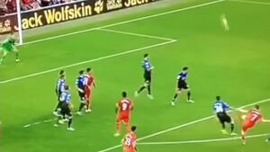 WATCH: James Milner slated for atrocious free kick attempt