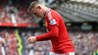 No Rooney for United in clash with Liverpool