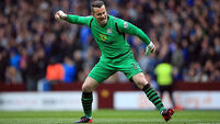 Shay Given has a chance of playing in the Cup final