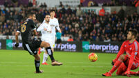 Swansea City v Leicester City - Barclays Premier League - Liberty Stadium