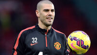 Victor Valdes's wife hits out at Manchester United over charity snub