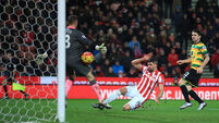 Stoke City v Norwich City - Barclays Premier League - Britannia Stadium
