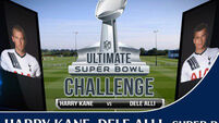Watch Harry Kane v Dele Alli: Ultimate Super Bowl Challenge
