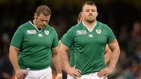 Ireland unlikely to call on recovering front-rowers for French battle
