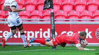 Scarlets record win over Ulster despite three sin-binnings