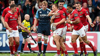 Munster finish strongly to see off Cardiff Blues