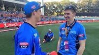 Tipp star Brendan Maher trying his hand at cricket in the Australian Big Bash League
