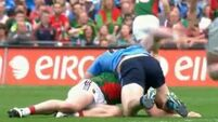 VIDEO: A closer look at the incident that led to Connolly sending-off