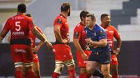 Cian Healy gets a yellow card 13/12/2015