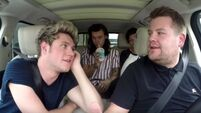One Direction channel a different look in James Corden's Carpool Karaoke