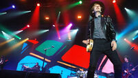 Beck brings sunshine grooves to an overcast Marquee
