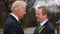 US Vice President tells Enda Kenny: You would get 80% of the vote in America