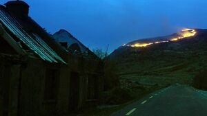 Video shows ring of fire at Gap of Dunloe
