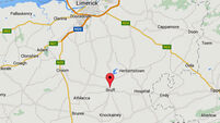 Man and woman in hospital after two-car collision in Limerick
