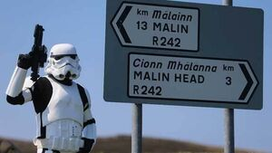 PHOTOS: Stormtroopers swarm to Star Wars set in Donegal