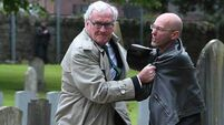 Canadian ambassador tackles protestor at Easter Rising ceremony