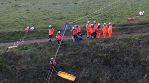 Body recovered from base of cliff in Clare