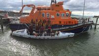 Rosslare Harbour RNLI launch to four rowers in difficulty off Wexford coast