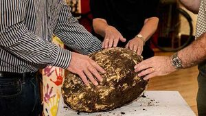 Turfcutters unearth 2000-year-old lump of bog butter in ancient 'no-man's-land'