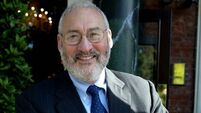 Joseph Stiglitz: Govt should use €13bn for enormous hardship Irish people faced