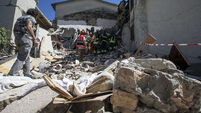 Italy quake was felt in Ireland