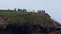 Locals join Coast Guard on Kilkee cliffs in search for missing man