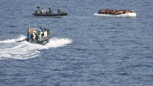 Irish Navy rescues 300 migrants, but 90 drown elsewhere as they cross Mediterranean