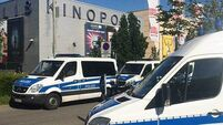Masked gunman shot dead at German cinema, police unsure if weapon was real