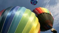 Man falls to his death from hot air balloon