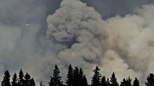 Canada evacuating 8,000 people by air from raging wildfire