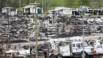 Fort McMurray 'saved' after rain and temperature drop