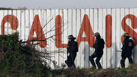 Afghan migrant dies after being hit by truck in Calais
