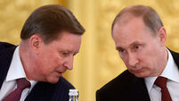 Vladimir Putin 'relieves chief of staff of his duties'