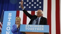 Bernie Sanders endorses Hillary Clinton's presidential campaign
