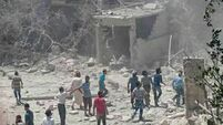 Maternity hospital bombed in Syria; Casualties reported