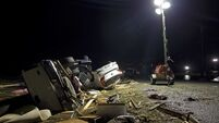 Three killed as powerful storms spark tornadoes across Gulf Coast states